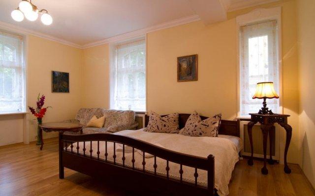 Отель Apartmany Villa Liberty Чехия, Карловы Вары - отзывы, цены и фото номеров - забронировать отель Apartmany Villa Liberty онлайн комната для гостей