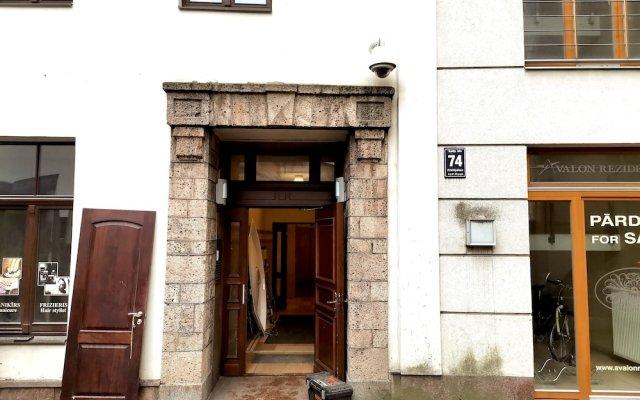 Апартаменты Riga Old Town Apartments вид на фасад