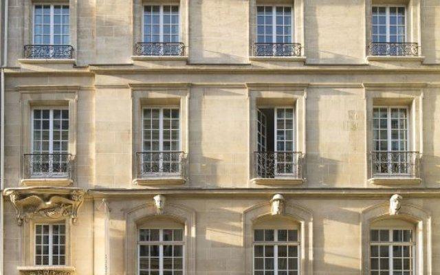 Отель Pershing Hall Париж вид на фасад
