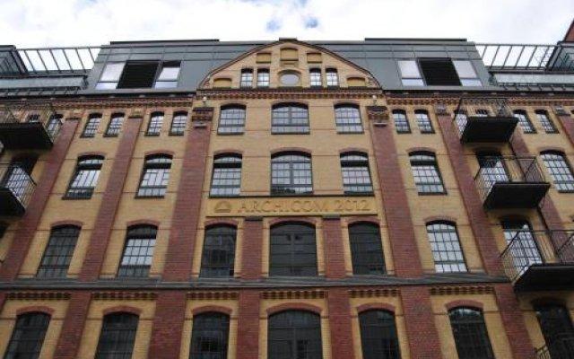 Апартаменты Royal Apartments Вроцлав вид на фасад
