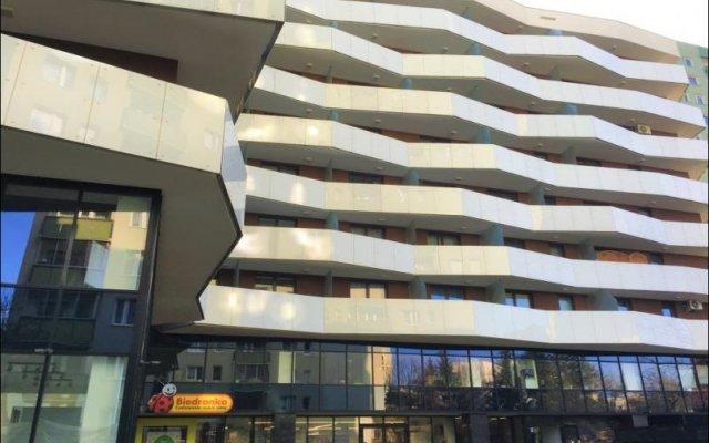 Отель P&O Apartments Metro Wilanowska 2 Польша, Варшава - отзывы, цены и фото номеров - забронировать отель P&O Apartments Metro Wilanowska 2 онлайн вид на фасад