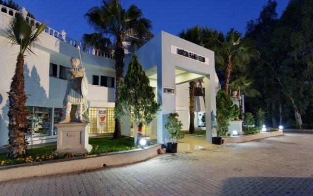 Отель Larissa Side Beach Club - All Inclusive вид на фасад