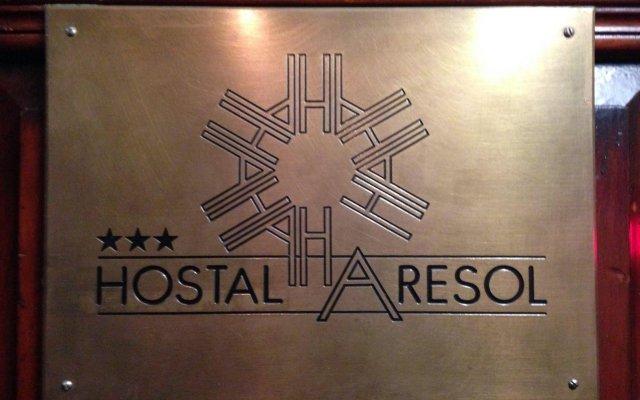 Отель Hostal Aresol Испания, Мадрид - отзывы, цены и фото номеров - забронировать отель Hostal Aresol онлайн вид на фасад