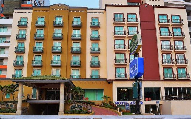 Astur Hotel y Suites вид на фасад