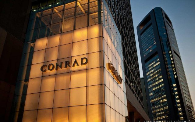 Отель Conrad Tokyo Япония, Токио - отзывы, цены и фото номеров - забронировать отель Conrad Tokyo онлайн вид на фасад