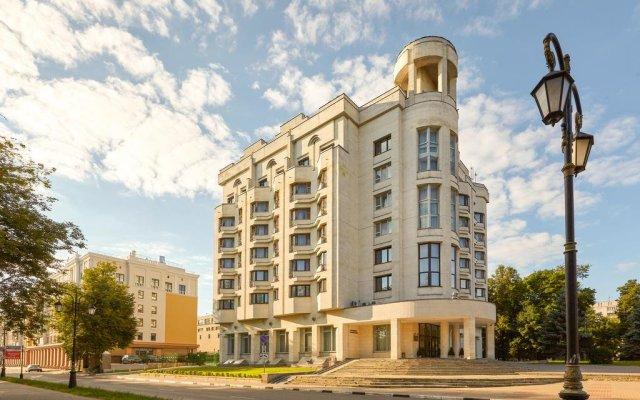 Гостиница Октябрьская, Нижний Новгород вид на фасад