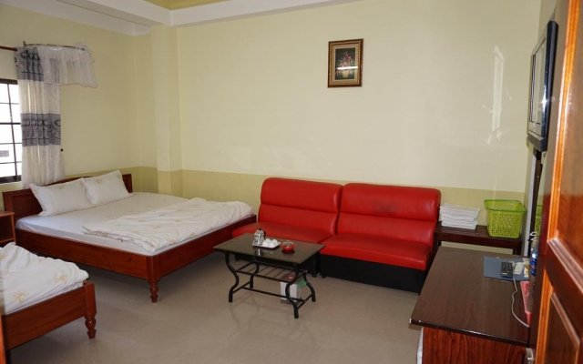 An Thuy Hotel Далат комната для гостей