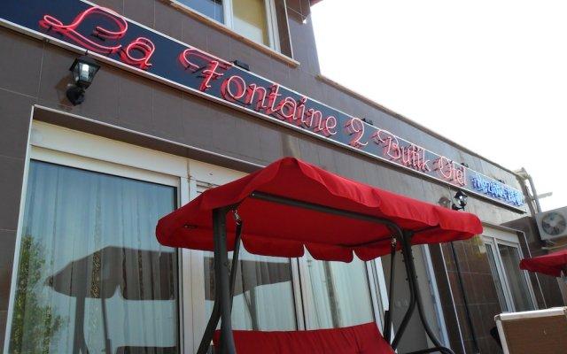 La Fontaine Guzelyali Hotel Турция, Армутлу - отзывы, цены и фото номеров - забронировать отель La Fontaine Guzelyali Hotel онлайн вид на фасад