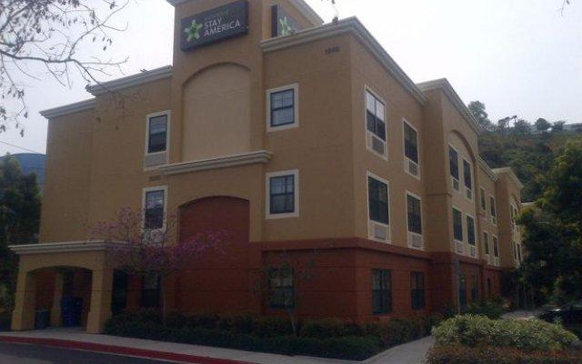 Отель Extended Stay America San Diego - Mission Valley - Stadium США, Сан-Диего - отзывы, цены и фото номеров - забронировать отель Extended Stay America San Diego - Mission Valley - Stadium онлайн вид на фасад