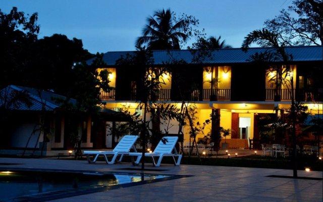 Отель Gamodh Citadel Resort Анурадхапура вид на фасад