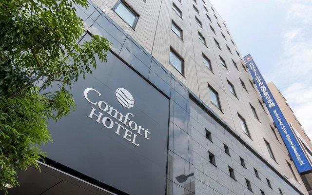 Comfort Hotel Tokyo Higashi Nihombashi вид на фасад