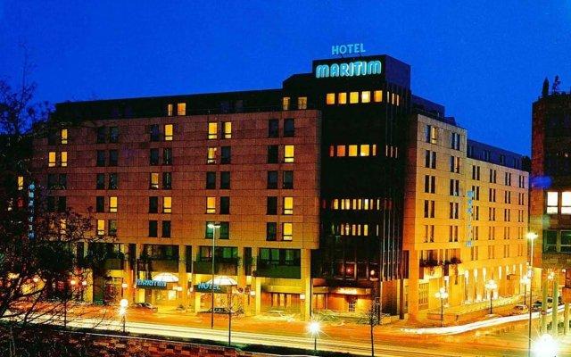 Maritim Hotel Nürnberg вид на фасад