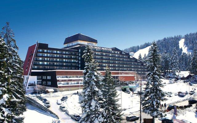 Отель Samokov Болгария, Боровец - 1 отзыв об отеле, цены и фото номеров - забронировать отель Samokov онлайн вид на фасад