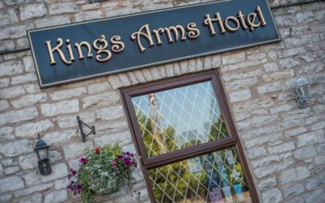 Отель The Kings Arms вид на фасад