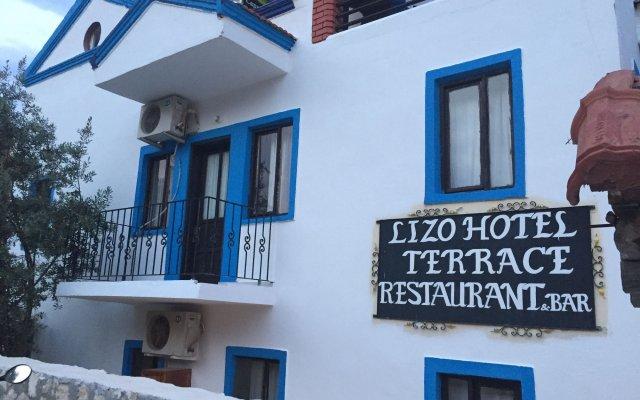 Lizo Hotel вид на фасад