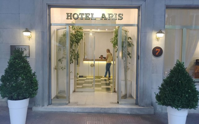 Ares Athens Hotel вид на фасад