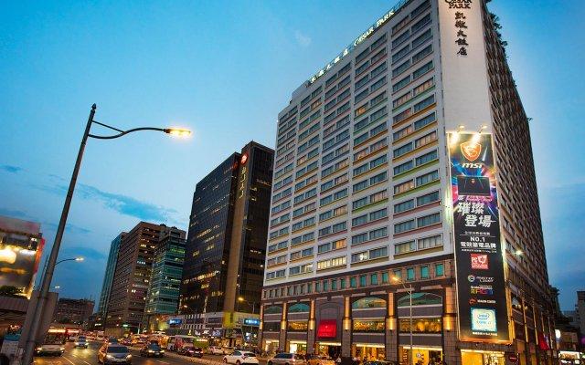 Caesar Park Hotel Taipei вид на фасад