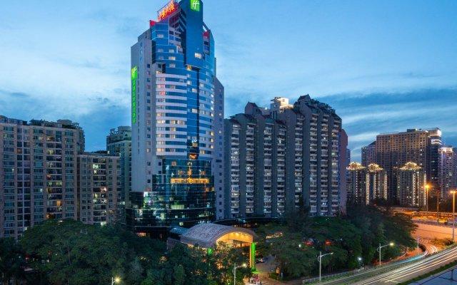 Отель Holiday Inn Shenzhen Donghua Китай, Шэньчжэнь - отзывы, цены и фото номеров - забронировать отель Holiday Inn Shenzhen Donghua онлайн вид на фасад