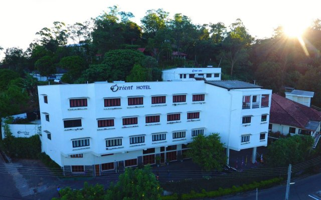 Orient Hotel вид на фасад