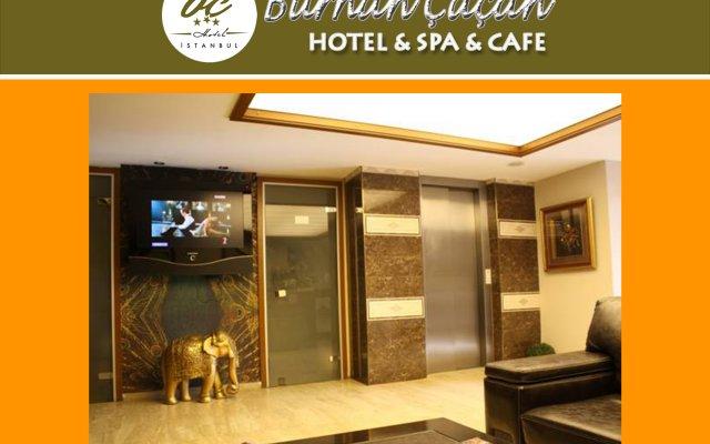 BC Burhan Cacan Hotel & Spa & Cafe вид на фасад