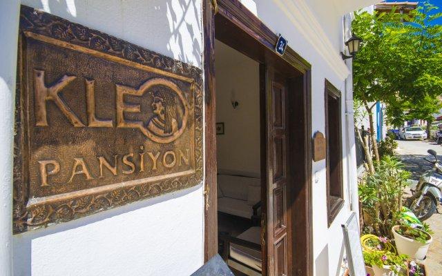 Отель Kleo Pension вид на фасад