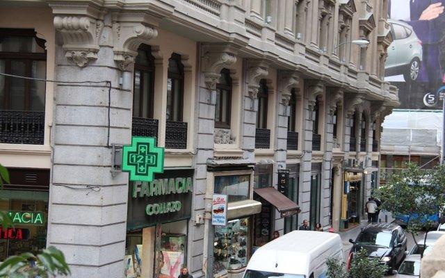 Отель Pension Lemus вид на фасад