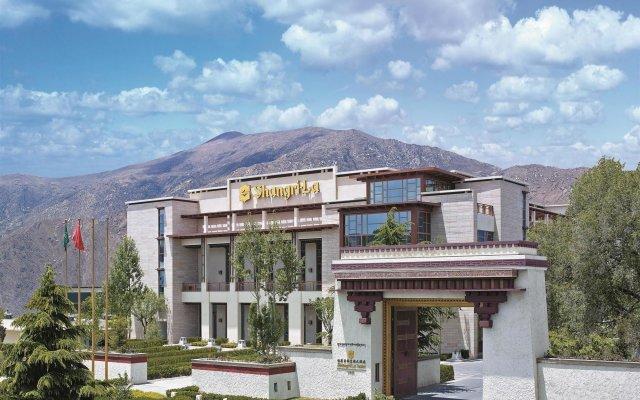 Shangri La Hotel Lhasa вид на фасад