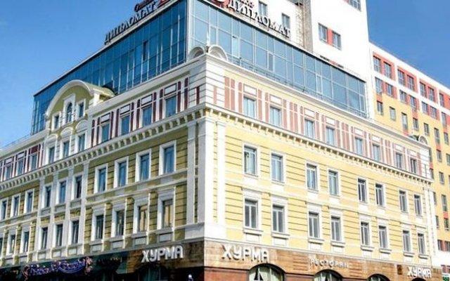 Гостиница Дипломат вид на фасад