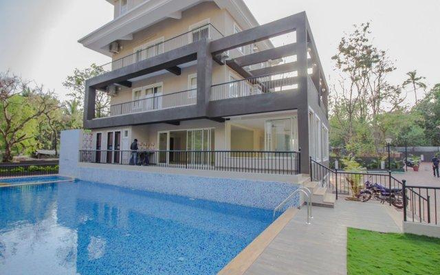 Отель OYO 13767 Home Exotic Pool View 3BHK Anjuna Гоа вид на фасад
