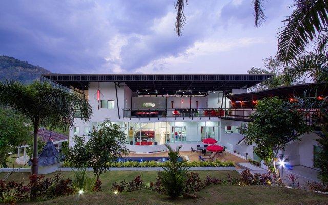 Отель Big Buddha Hill Villa вид на фасад