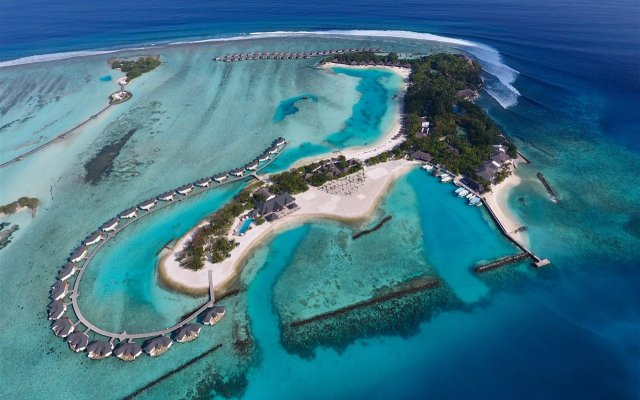 Отель Cinnamon Dhonveli Maldives-Water Suites вид на фасад