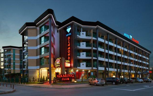 Отель Menada Diamond Bay Солнечный берег вид на фасад