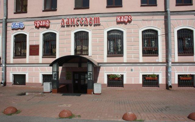 Гостиница Ланселот вид на фасад