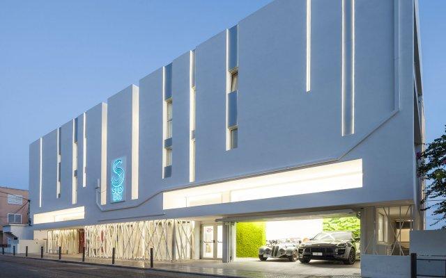 Отель Sud Ibiza Suites вид на фасад