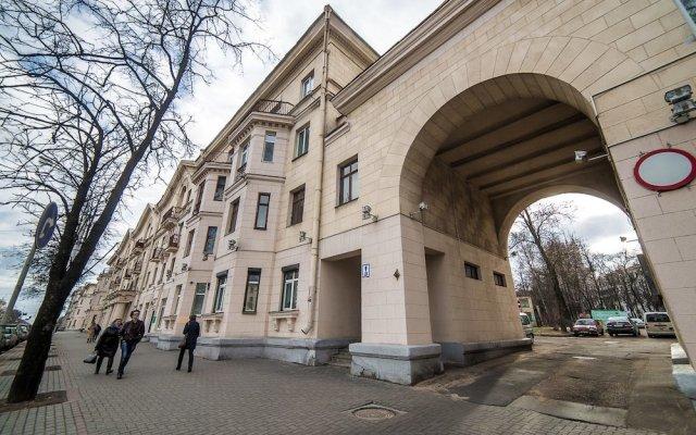 Апартаменты Apartments Minsk Минск вид на фасад