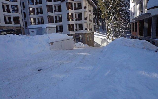 Отель Snowy Dreams Pamporovo Apartments Болгария, Пампорово - отзывы, цены и фото номеров - забронировать отель Snowy Dreams Pamporovo Apartments онлайн вид на фасад
