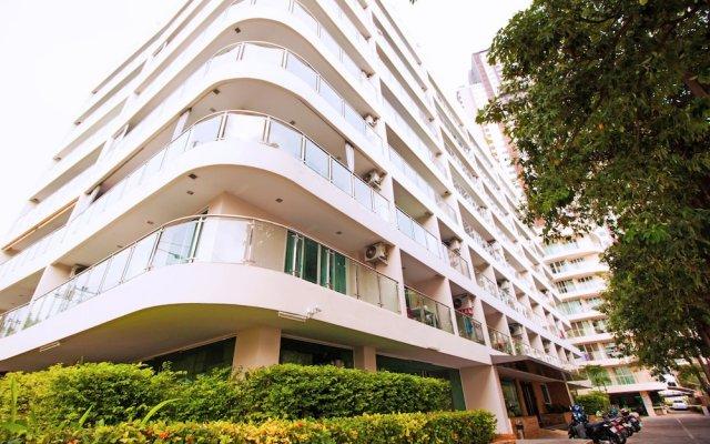 Отель Hyde Park Residence by Pattaya Sunny Rentals Паттайя вид на фасад