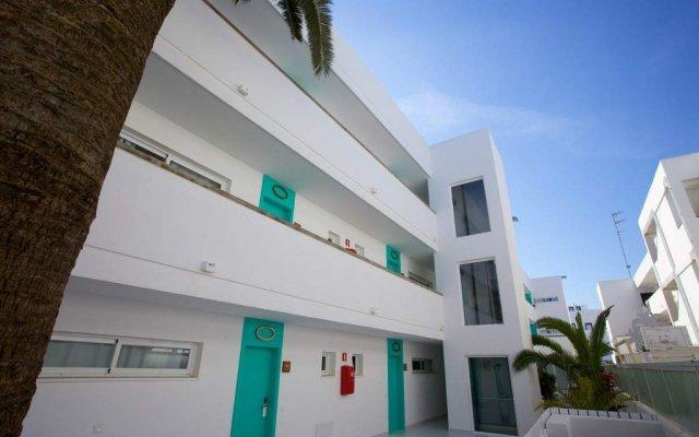 Отель Santos Ibiza Suites вид на фасад