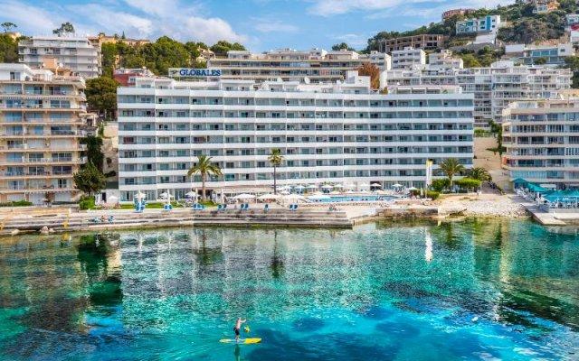 Отель Globales Verdemar Apartamentos Испания, Коста-де-ла-Кальма - отзывы, цены и фото номеров - забронировать отель Globales Verdemar Apartamentos онлайн вид на фасад