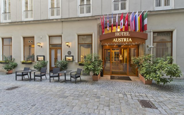 Hotel Austria - Wien вид на фасад