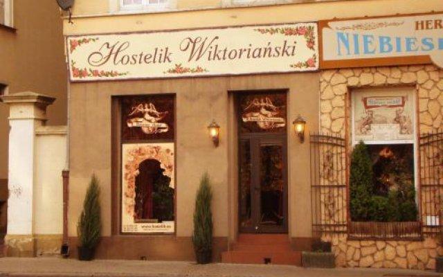 Отель Hostelik Wiktoriański вид на фасад