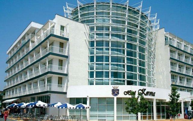 Hotel Korona Солнечный берег вид на фасад