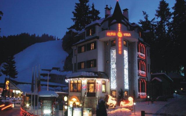 Отель Alpin Боровец вид на фасад