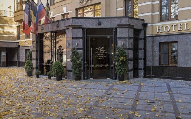 Аглая Кортъярд Отель вид на фасад