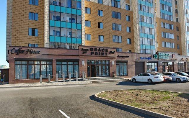 Гостиница Grace Point Hotel Казахстан, Нур-Султан - отзывы, цены и фото номеров - забронировать гостиницу Grace Point Hotel онлайн вид на фасад