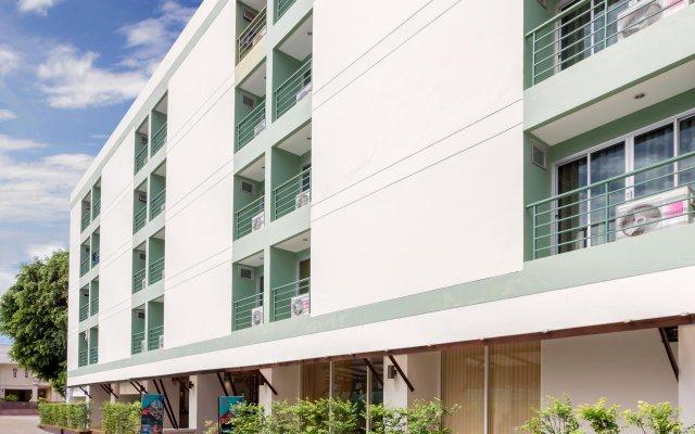 Отель Patong Bay Residence R07 вид на фасад