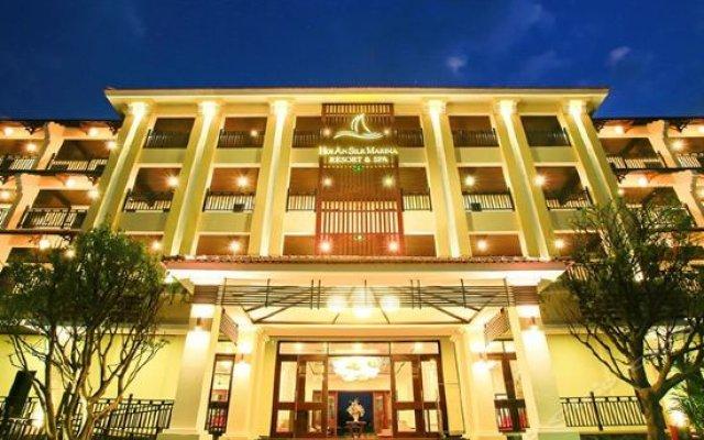 Отель Hoi An Silk Marina Resort & Spa Вьетнам, Хойан - отзывы, цены и фото номеров - забронировать отель Hoi An Silk Marina Resort & Spa онлайн вид на фасад