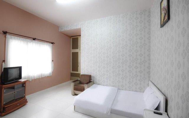 Huong Dalat Hotel Далат комната для гостей
