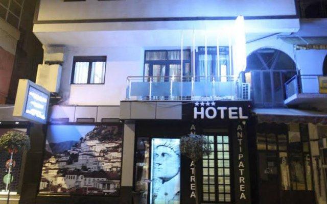 Отель ANTIPATREA Берат вид на фасад