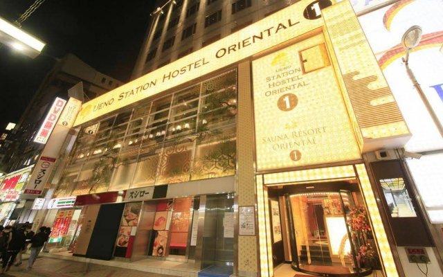Отель Ueno Station Hostel Oriental 1 Япония, Токио - отзывы, цены и фото номеров - забронировать отель Ueno Station Hostel Oriental 1 онлайн вид на фасад